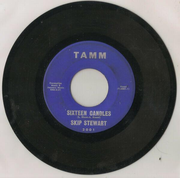 """Stewart, Skip """"Sixteen Candles"""" *45* (G) 1965"""
