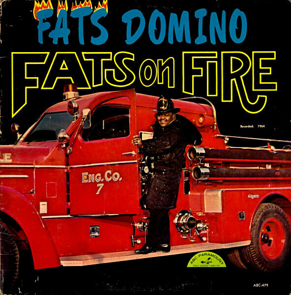 """Fats Domino """"Fats On Fire"""" VG+ 1964"""