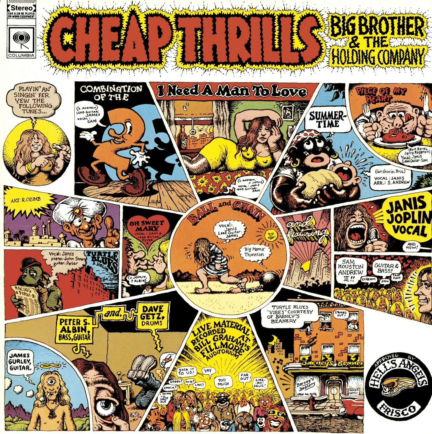 "Janis Joplin ""Cheap Thrills"" NM- 1968"