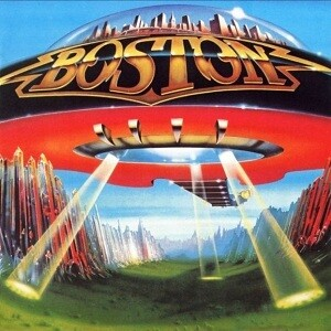 "Boston ""Don't Look Back"" EX+ 1978"