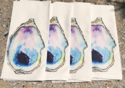 Oyster Dinner Napkins Set Of 4