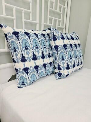 Blue Serendipity Pillow
