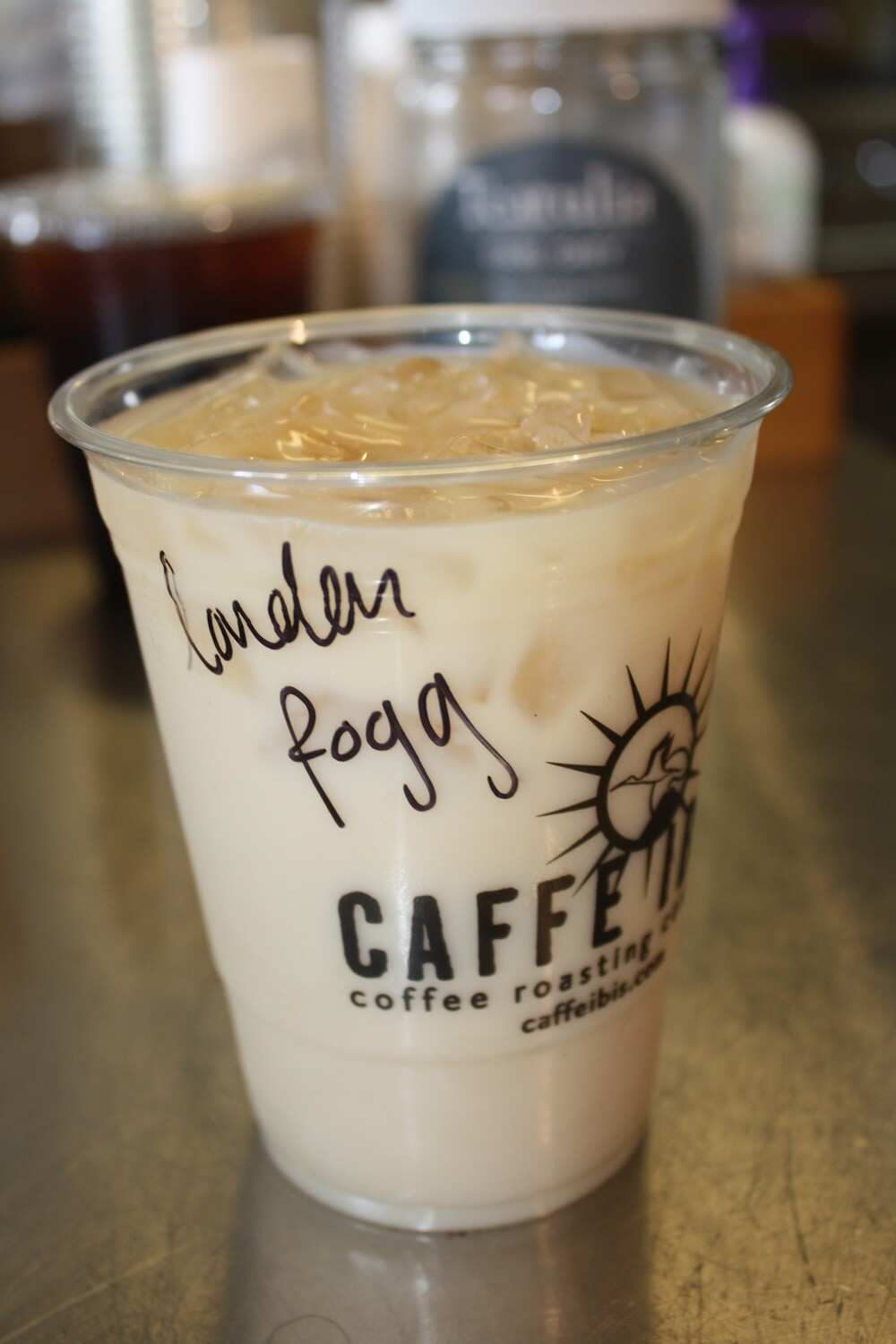 Iced London Fog