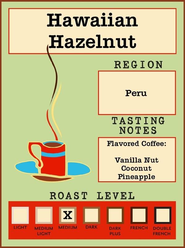 12oz Hawaiian Hazelnut