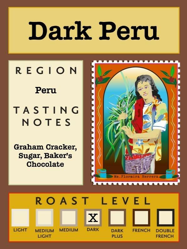 12oz Organic Dark Peru
