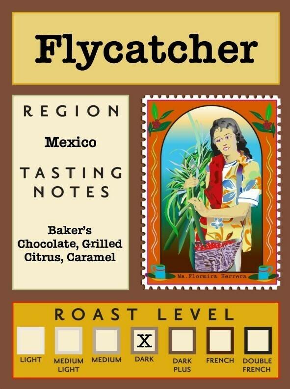 12oz Organic Flycatcher