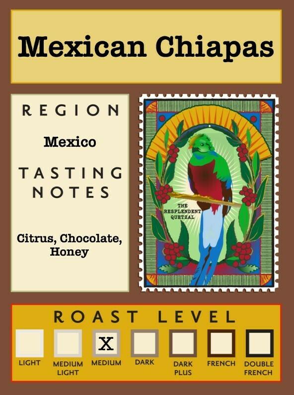 12oz Organic Mexican Chiapas
