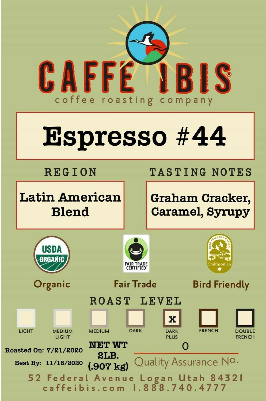 2lb Organic Espresso #44