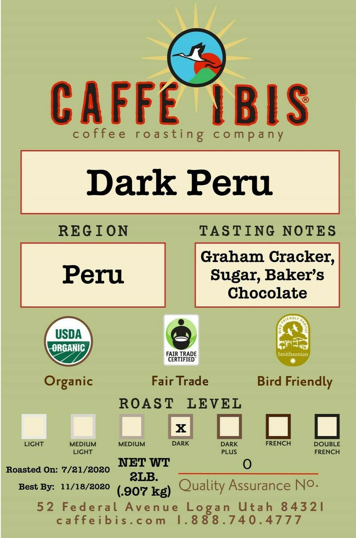 2lb Organic Dark Peru