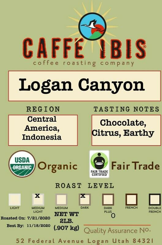 2lb Organic Logan Canyon Blend