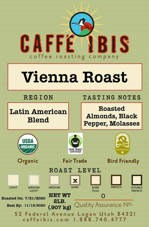 2lb Organic Vienna Roast