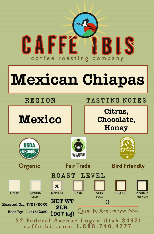 2lb Organic Mexican Chiapas