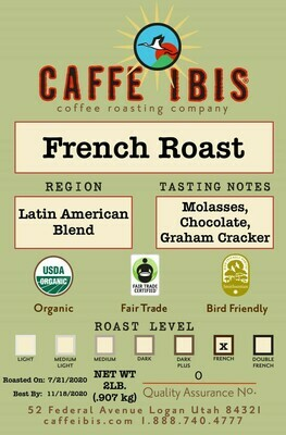 2lb Organic French Roast