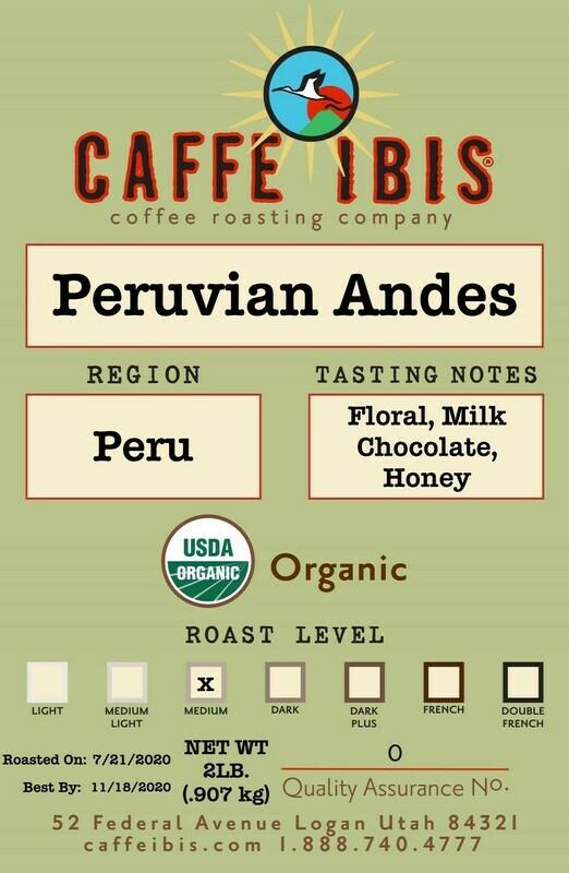 2lb Organic Peruvian Andes
