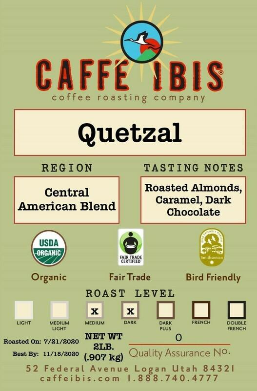 2lb Organic Quetzal Blend