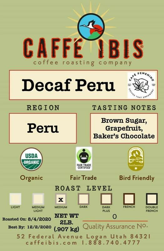 2lb Decaf Organic Peru
