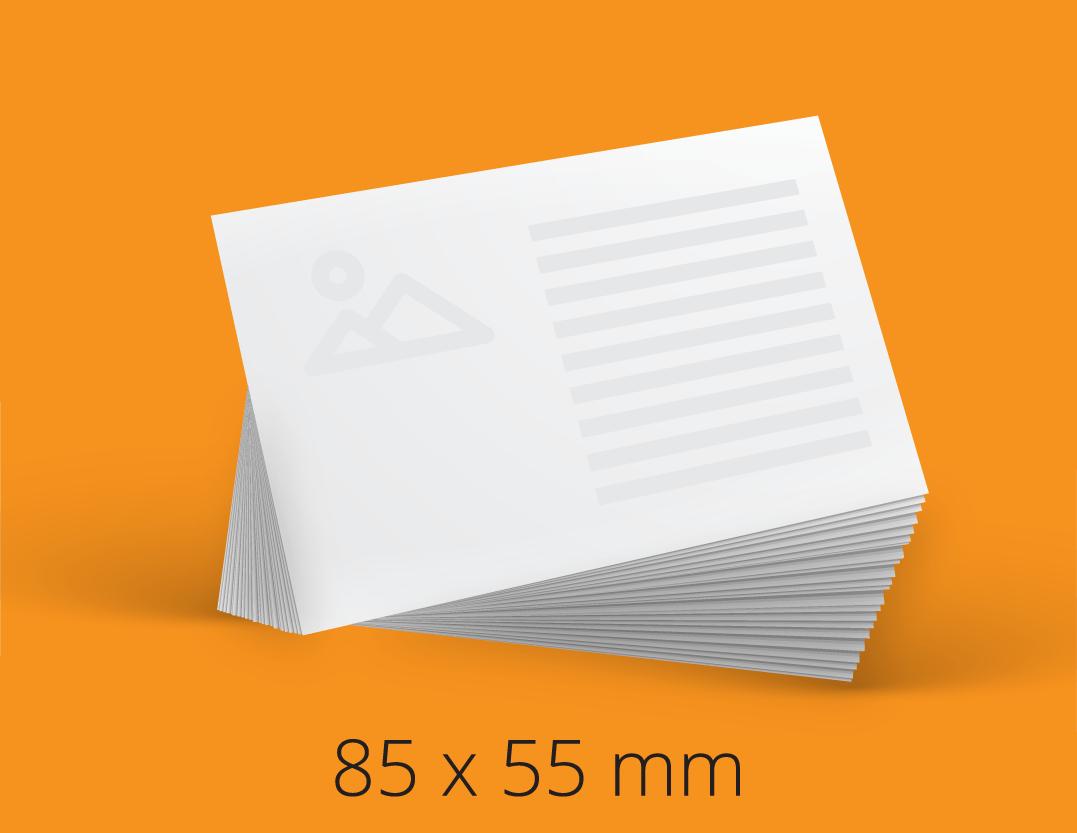 business card 85x55 mm