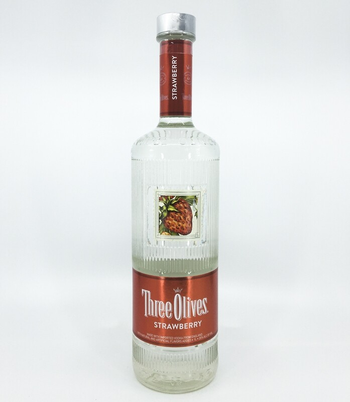 Three Olives Strawberry Liter