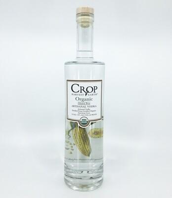 Crop plain vodka