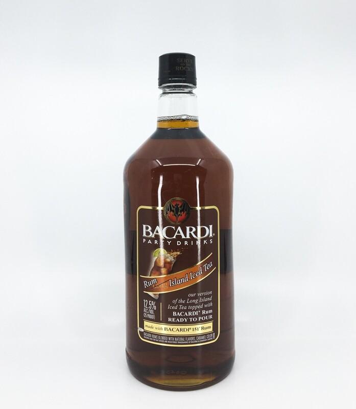 Bacardi Rum Island Iced Tea 1.75