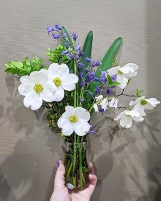 Bluegrass Witch Bouquet w/ Crystals