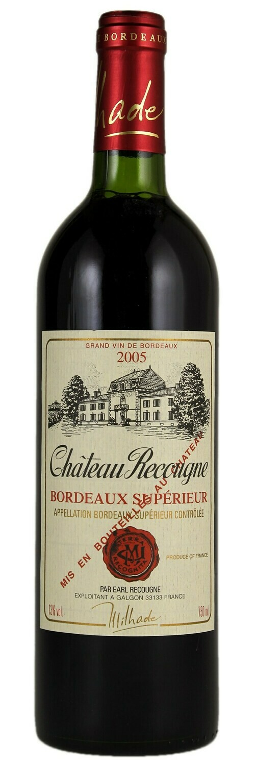 Chateau Recougne Right Bank 750ml