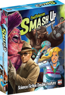Smash Up Expansion Science Fiction