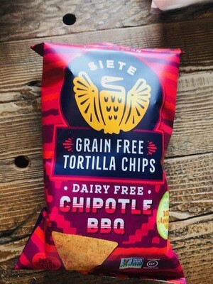 Siete Chipotle BBQ Chips