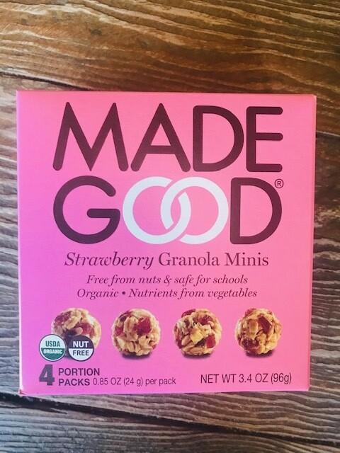 Made good strawberry granola
