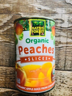 Native Forest Sliced Peaches