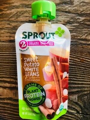 Sprout Sweet Potato White Beans