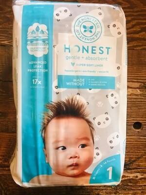Honest Diapers size 1 Pandas