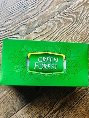 Green Forest Facial Tissue