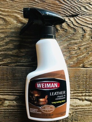 Weiman Household Leather Cleaner Spray