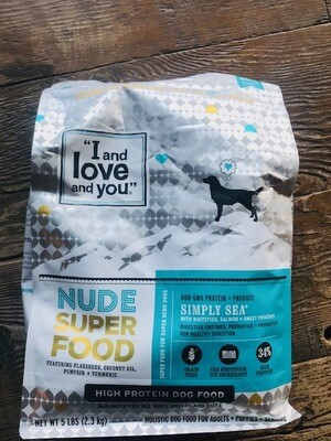 I and Love and You Dog Kibble Seafood