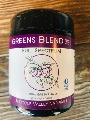 Mattole Naturals Full Spectrum Greens
