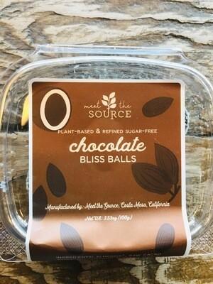 Meet the Source Chocolate Bliss Balls