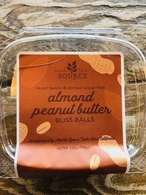 Meet the Source Almond Peanut Butter Bliss Balls