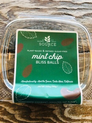 Meet the Source Mint Chip Bliss Balls