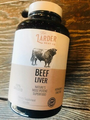 Larder Meat Co. Beef Liver Pills