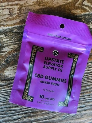 Upstate Elavator Supply CBD Gummies 10 Pack