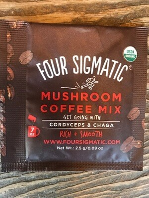 Four Sigmatic Mushroom Coffee Cordyceps & Chaga Individual