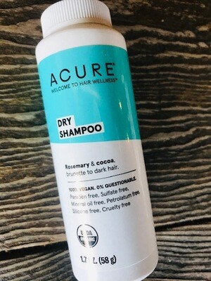 Acure Dry Shampoo Brunette