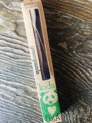 Green Panda Kids Toothbrush