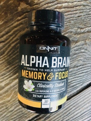 Onnit Alpha Brain Memory/Focus