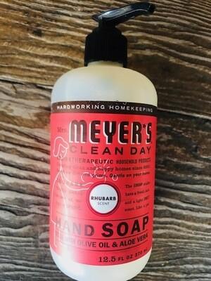 Mrs. Meyers Rhubarb handsoap