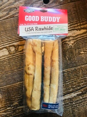 Castor & Pollux rawhide stick