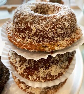 Vanilla Coconut Sugared Donuts