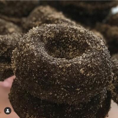 Chocolate Espresso Sugared Donuts