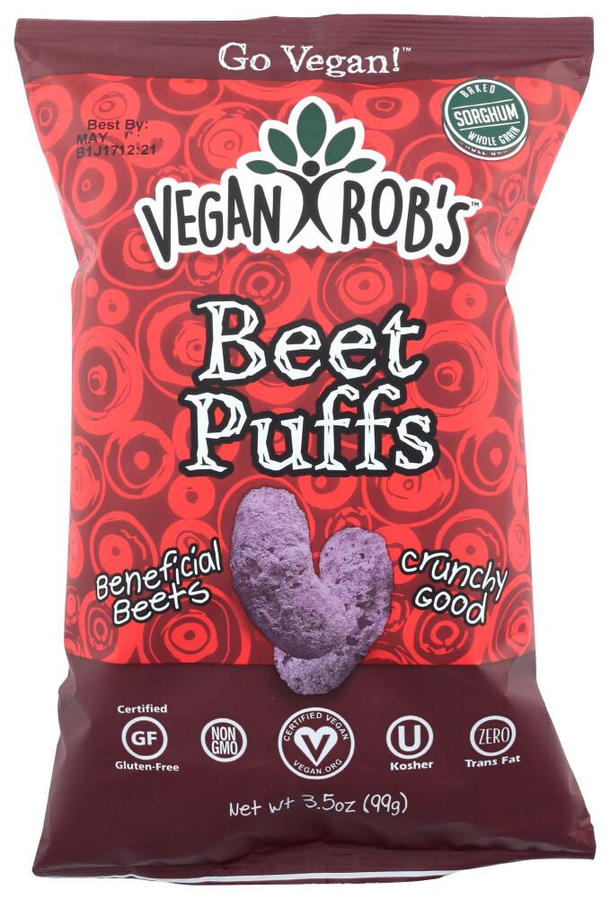 Vegan Rob's Snacks Beet Puffs